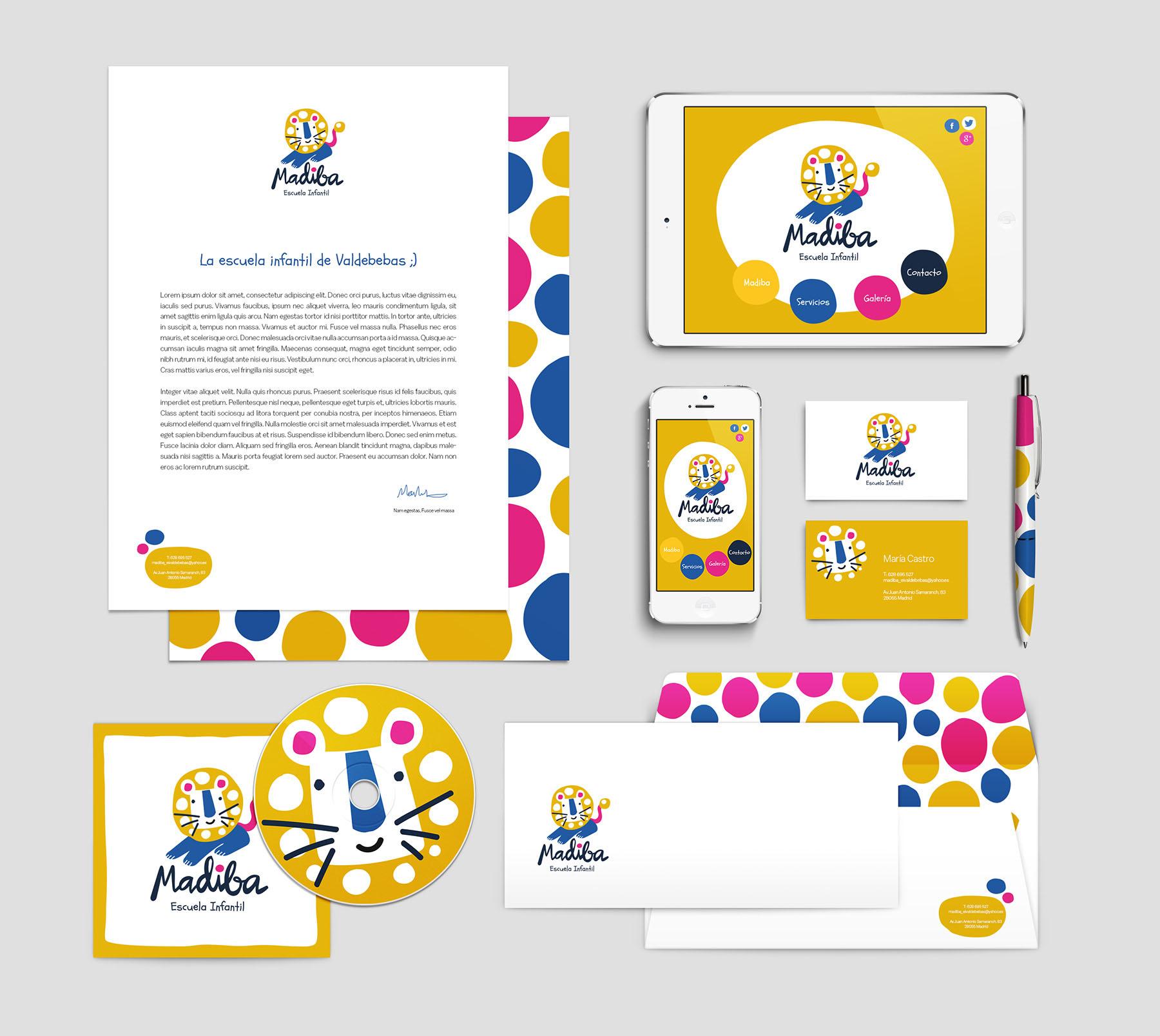 manual de identidad corporativa Madiba