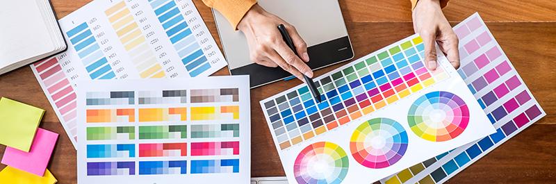 psicología en el color en el branding