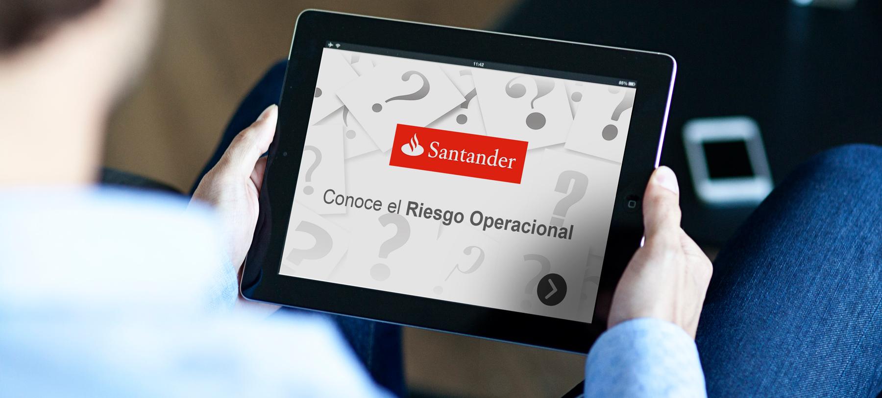 Santander Curso Riesgo Operacional