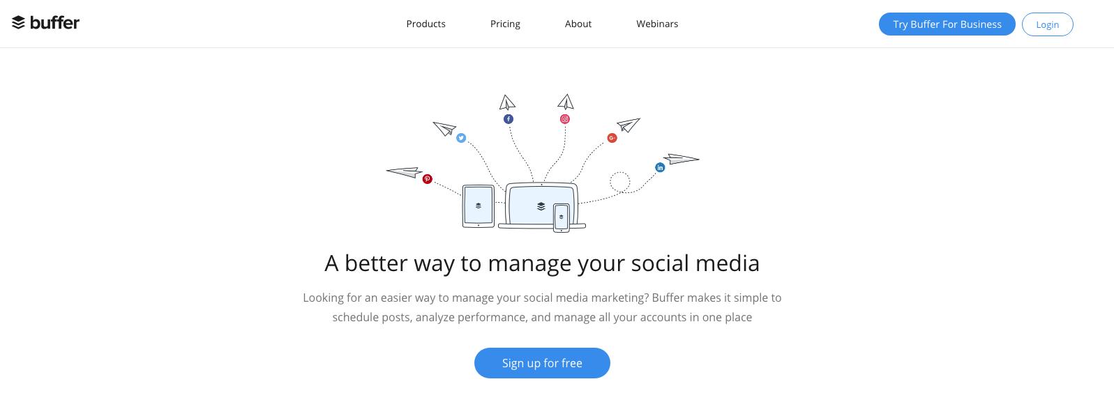 Buffer: herramientas para Redes Sociales