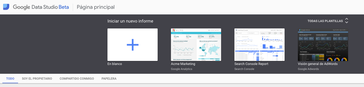 Google Data Studio: herramientas para Redes Sociales