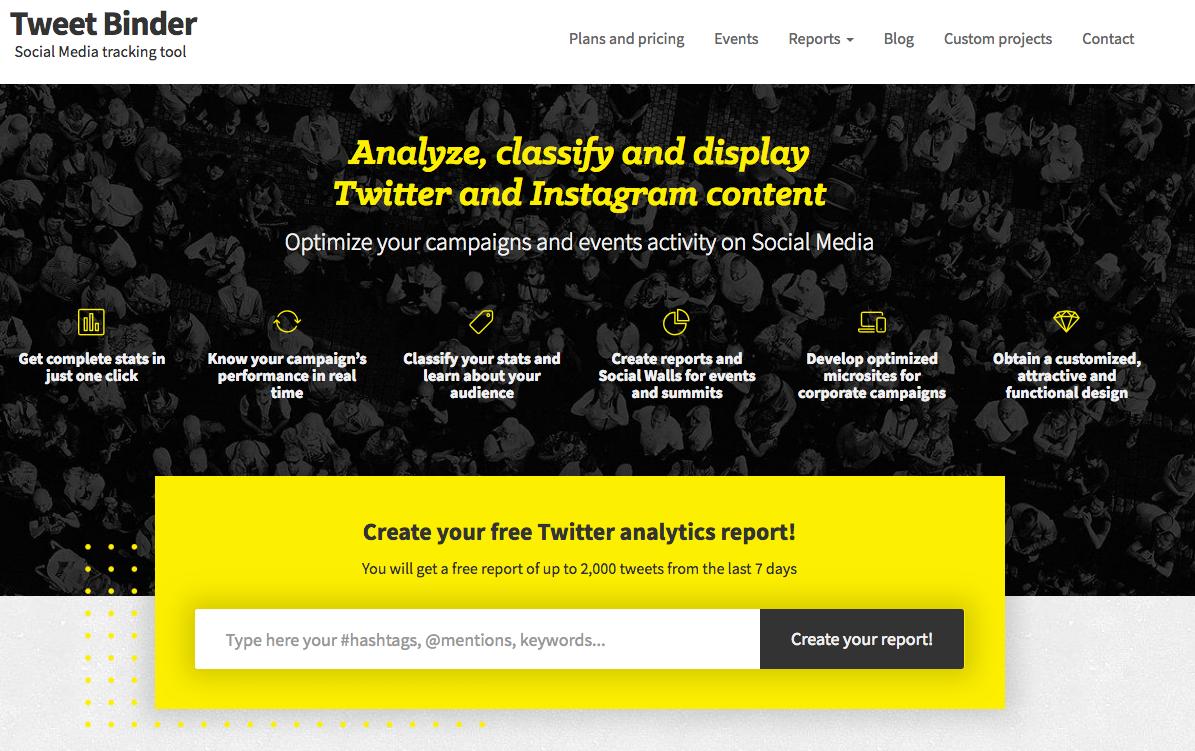 Tweet Binder: herramientas para Redes Sociales