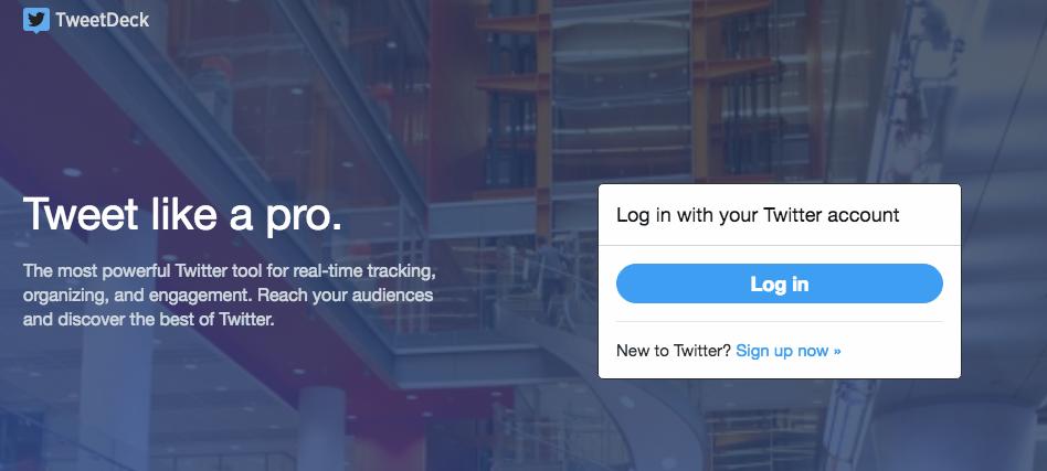 TweetDeck: herramientas para Redes Sociales