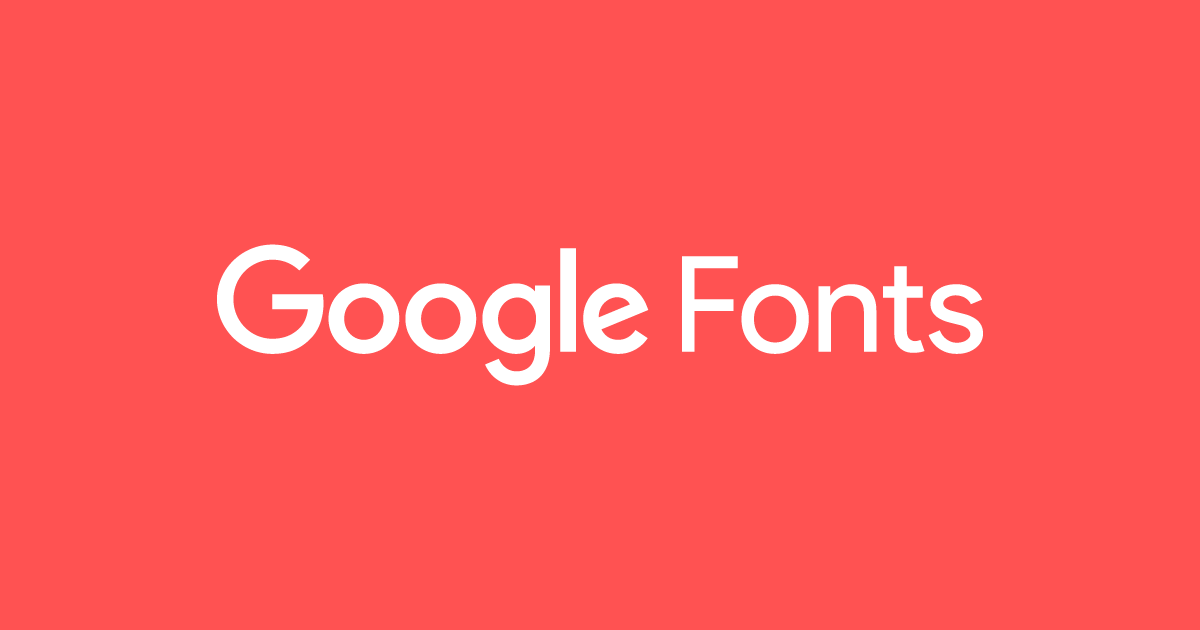 tipografías de google fonts