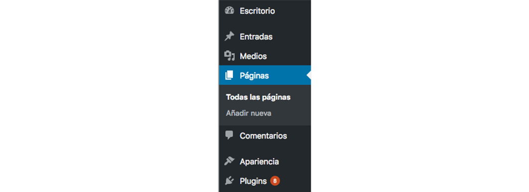 Actualizar wordpress paso 1