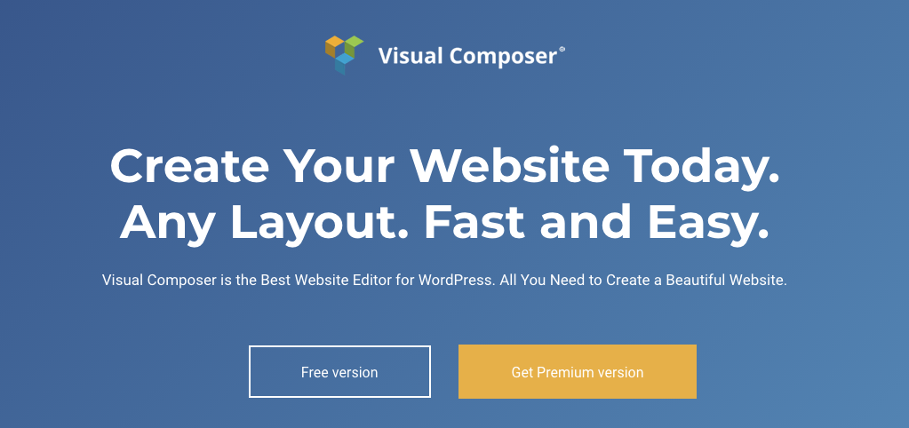 visual composer para landing page