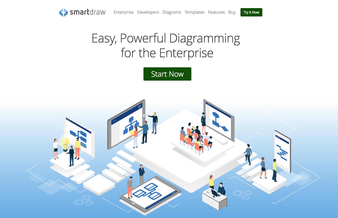 Análisis DAFO con smartdraw