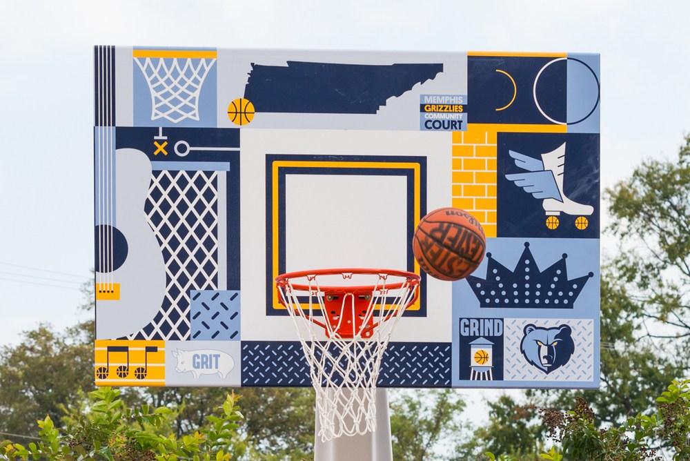 Project Backboard diseño de campos de baloncesto