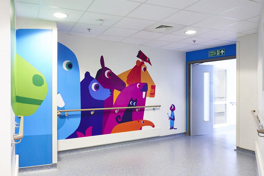 diseño del hospital infantil vital arts