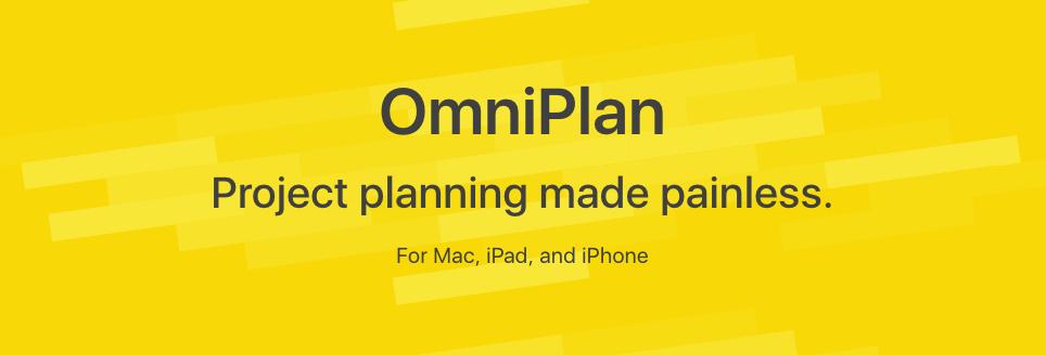 Omniplan con Diagrama de Gantt