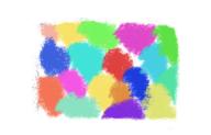 demasiados colores mal combinados