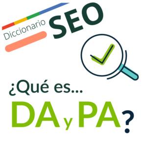 ¿Qué significa DA y PA?