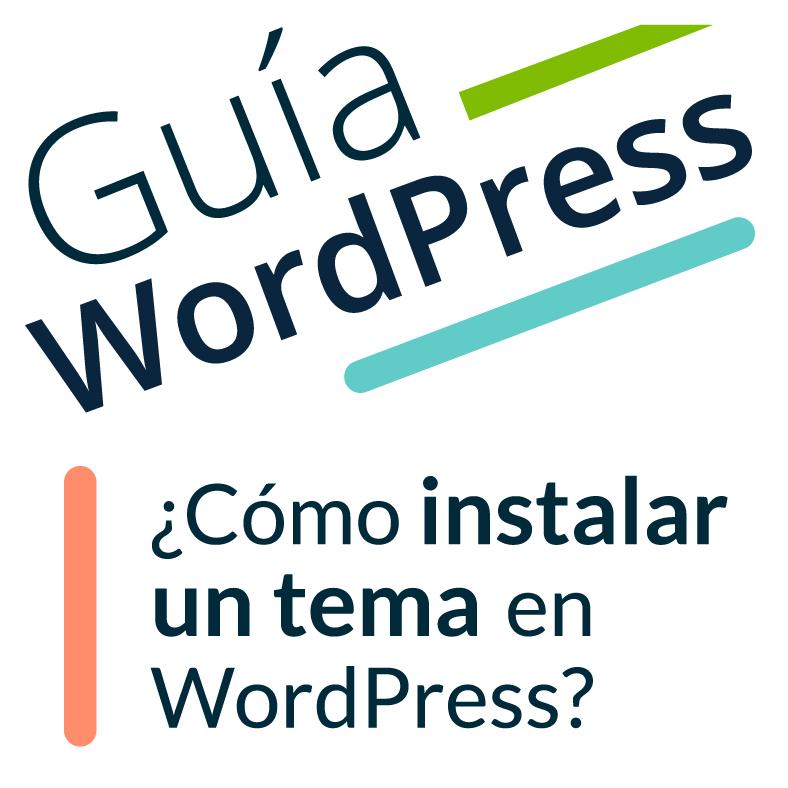 """Imagen ilustrativa para la entrada """"¿Cómo instalar un tema en WordPress?"""""""