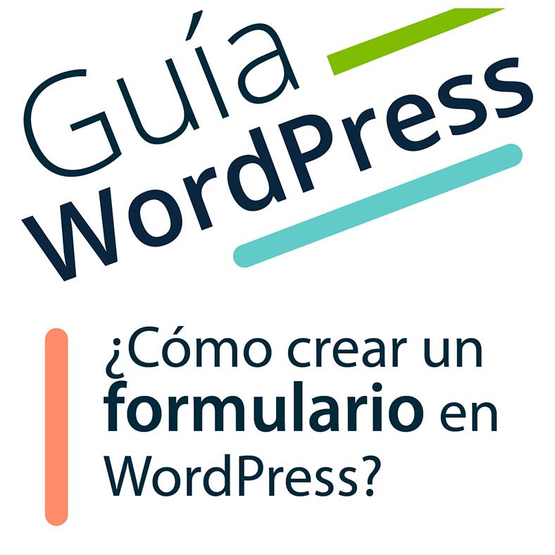 formulario en WordPress