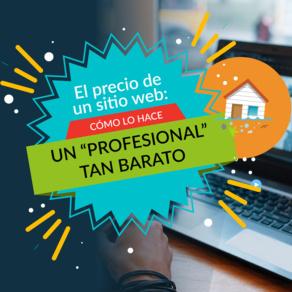 El precio de un sitio web (2): ¿Cómo lo hace el 'profesional' tan barato?
