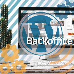 ¿Qué es el back office de WordPress?