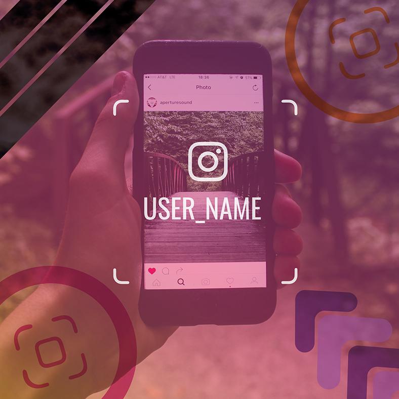 identificación de instagram