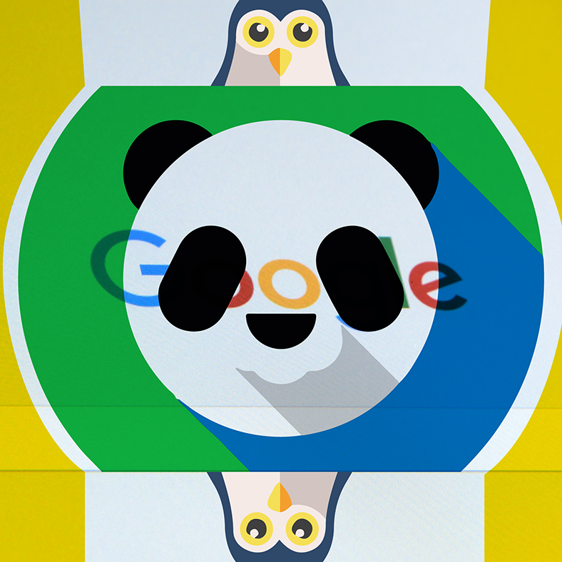 google panda y penguin