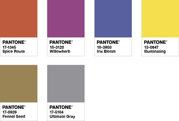 INTRIGUE Color of the year