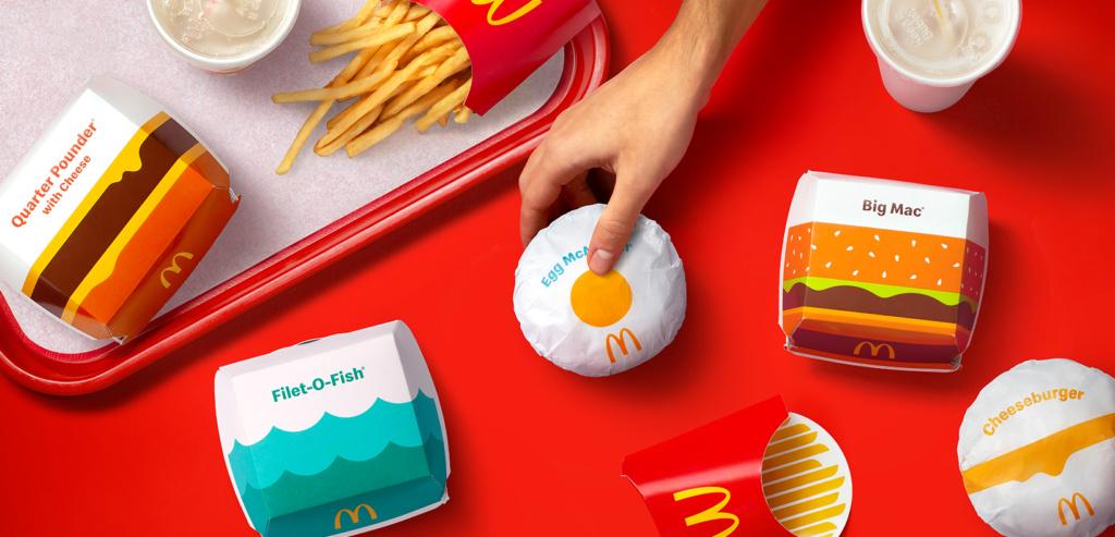 Nuevo packaging de McDonalds