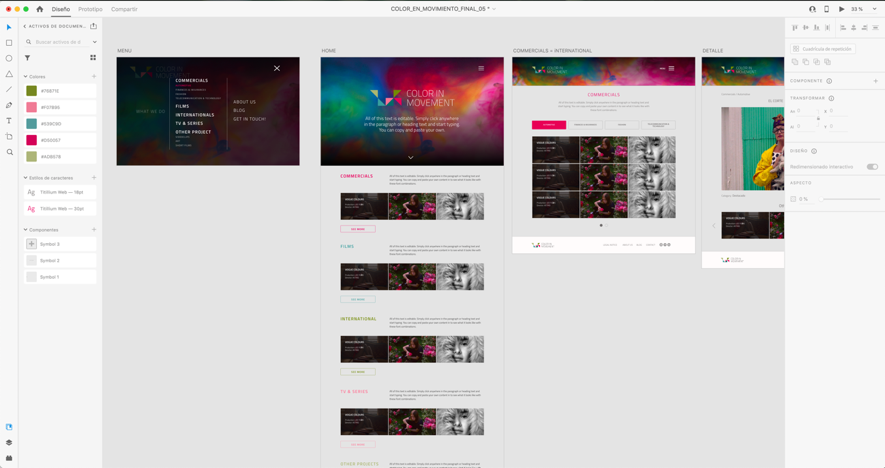 Adobe XD para diseño